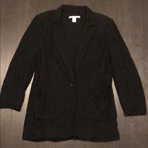 Kenneth Cole all over lace fabric blazer